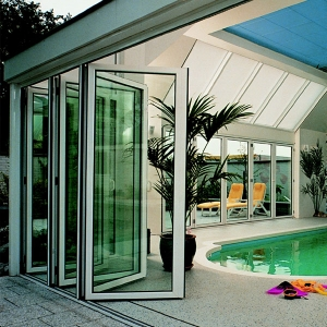 Bi-folding doors installed in a residential property