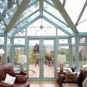 Interior of an atrium style conservatory