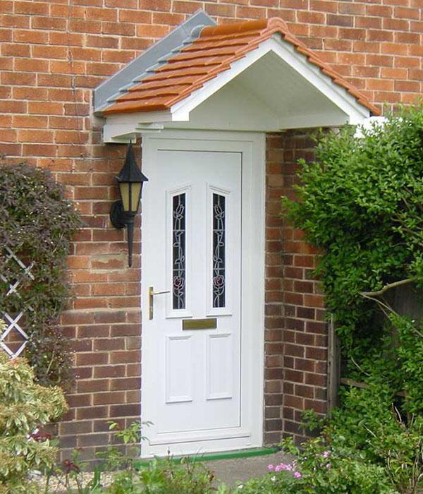 PVC entrance door