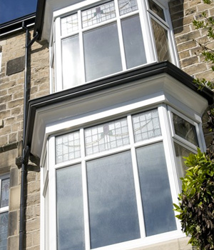 Double bay windows