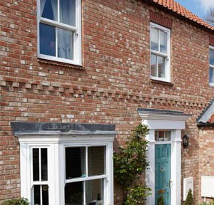 Sash and bow windows
