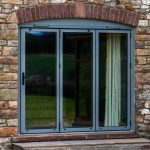 What is a bifold door?
